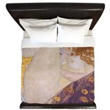 Gustav klimt King Duvet Covers