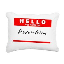 Abdul-Alim Rectangular Canvas Pillow