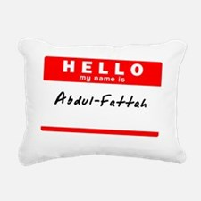 Abdul-Fattah Rectangular Canvas Pillow