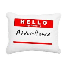 Abdul-Hamid Rectangular Canvas Pillow