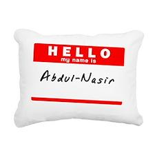 Abdul-Nasir Rectangular Canvas Pillow
