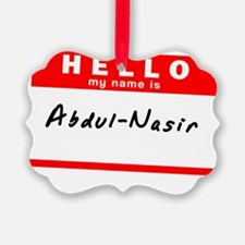 Abdul-Nasir Ornament