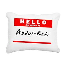 Abdul-Rafi Rectangular Canvas Pillow