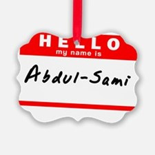 Abdul-Sami Ornament