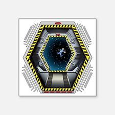 """airlock4 Square Sticker 3"""" x 3"""""""