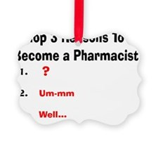 Pharmacist Humor Ornament