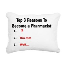 Pharmacist Humor Rectangular Canvas Pillow