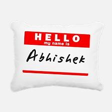 Abhishek Rectangular Canvas Pillow