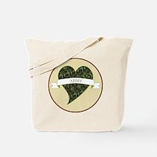 Love Heart Army Tote Bag