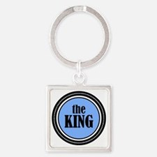 theKING Square Keychain
