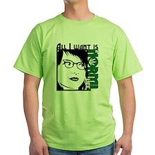 Glasses Woman T-Shirt