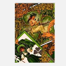 VINTAGE-IRISH-B-KINDLE-SL Postcards (Package of 8)