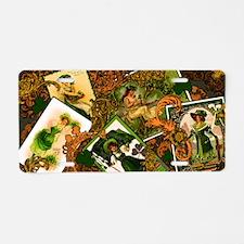 VINTAGE-IRISH-CLUTCH-BAG Aluminum License Plate