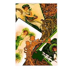 VINTAGE-IRISH-IPAD-SLEEVE Postcards (Package of 8)