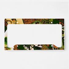 VINTAGE-IRISH-LAPTOP-SKIN License Plate Holder