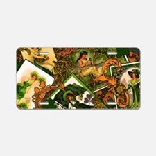 VINTAGE-IRISH-LAPTOP-SKIN Aluminum License Plate