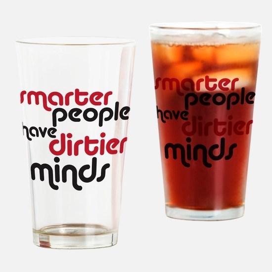 smarter copy Drinking Glass