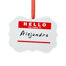 Alejandra Ornament