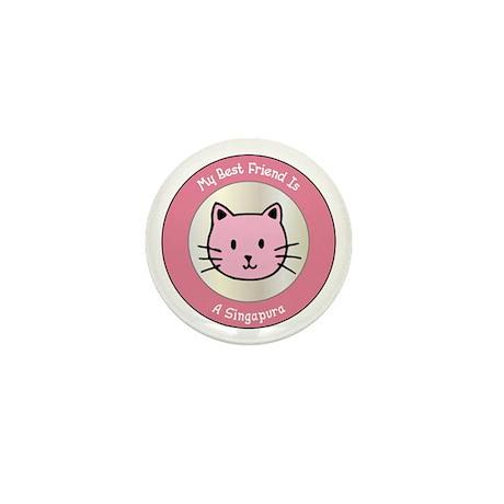 Friend Singapura Mini Button (10 pack)