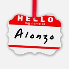 Alonzo Ornament