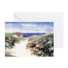 Summer In Nantucket 200AutoRT Greeting Card