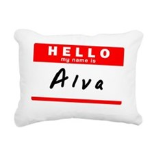 Alva Rectangular Canvas Pillow
