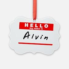 Alvin Ornament