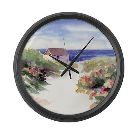 SQSummer In Nantucket 200AutoRT Large Wall Clock