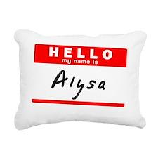 Alysa Rectangular Canvas Pillow