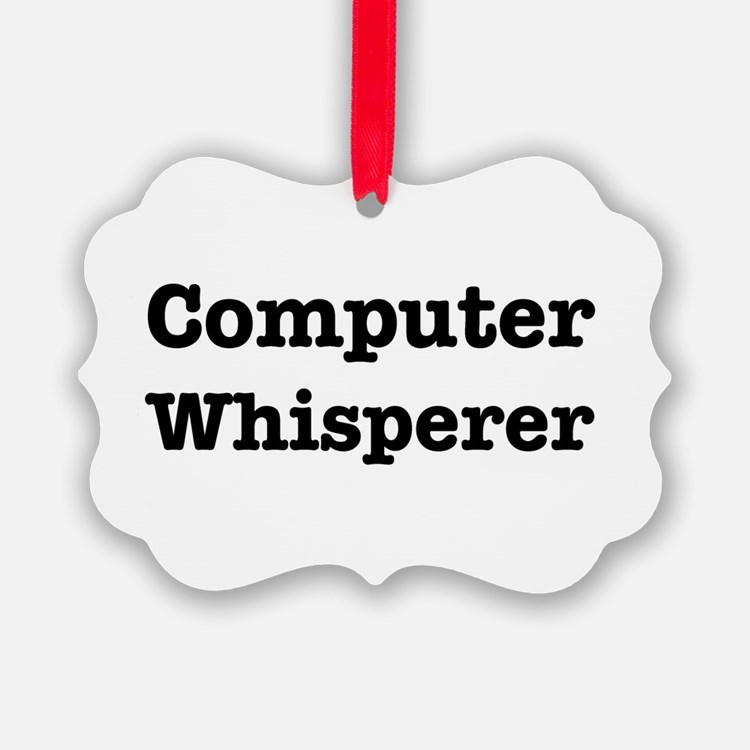 Computer Whisperer Ornament