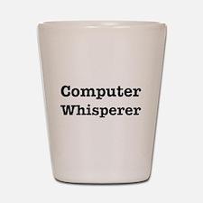 Computer Whisperer Shot Glass