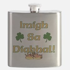 GO-TO-THE-DEVIL Flask