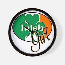 IRISH-GIRL Wall Clock