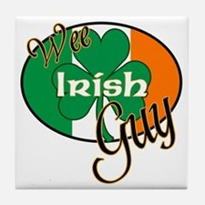 little-irish-guy Tile Coaster