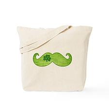 Shamrock Stache Tote Bag