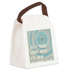 new hawaii card Canvas Lunch Bag