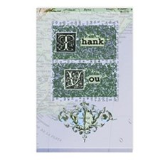 newcard 002 thank you Postcards (Package of 8)