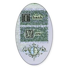 newcard 002 thank you Decal