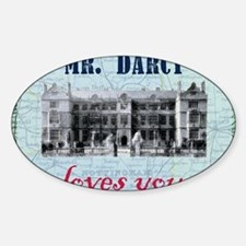 newcard 073 mr darcy loves you Decal