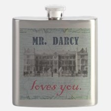 newcard 073 mr darcy loves you Flask