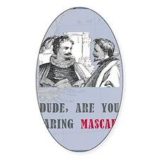 newcard 130 dude mascara Decal
