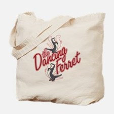 The Dancing Ferret (dark) Tote Bag