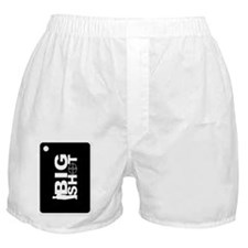 Oval Big Shot Keychain Back Boxer Shorts
