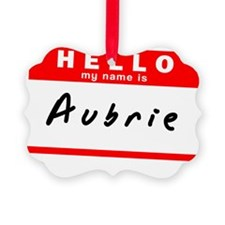Aubrie Ornament