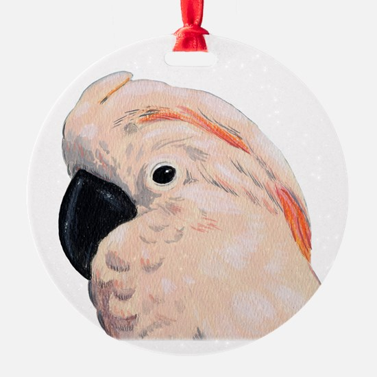 Moluccan Cockatoo Ornament