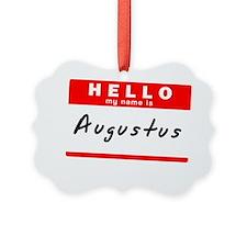 Augustus Ornament
