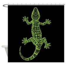 Gecko Shower Curtain