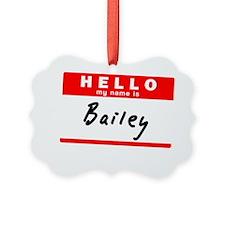 Bailey Ornament