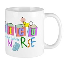 Nicu Nurse BABY BLOCKS Mug