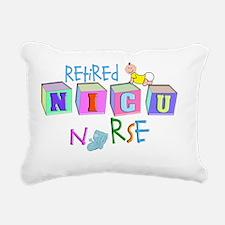 retire NICU Nurse Rectangular Canvas Pillow